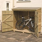 Buckthorn 6 X 3 Wooden Bike Shed