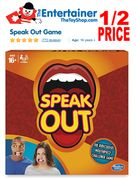 HASBRO Speak out Game - HALF PRICE! WAS £22 NOW £11