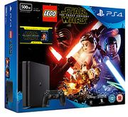 PS4 500GB Slim with LEGO Star Wars the Force Awakens & the Force Awakens Blu-Ray