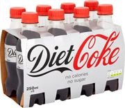 MEGA DEAL Diet Coke 16 X 250ml