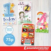 These Cute Birthday Cards for Just 75p Each!