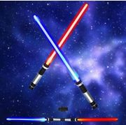 Star Wars Laser Sword Cosplay Prop Shine Sound and Light and Changeable Color