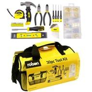 Rolson 30-Piece Tool Kit Free C&C
