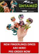 Where Can I Buy Fingerlings Untamed Velociraptor Dino in UK? Watch YouTube Video