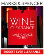 M&S BIGGEST EVER WINE CLEARANCE - Sauvignon Blanc, Malbec, Shiraz.....