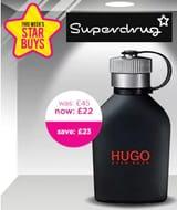 HALF PRICE STAR BUY! HUGO Just Different 75ml - for MEN