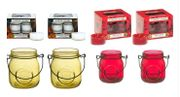 Yankee Candle Two Jam Jar Tealight Holders with 24 Yankee Tealights £10.99