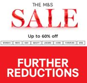 M&S SALE - FURTHER REDUCTIONS - Now up to 60% OFF!