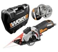 WORX Worxsaw 400W 85mm Compact Circular Saw