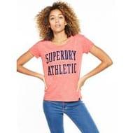Superdry Athletic Slim Boyfriend T-Shirt