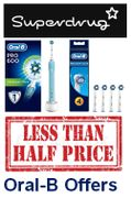Better than 1/2 Price Oral B Electric Toothbrushes & REPLACEMENT HEADS