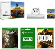 MICROSOFT Xbox One S, Games & Subscription Bundle
