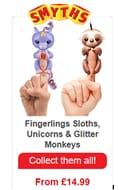 Fingerlings Monkeys, Unicorns, Sloths & Dinos COLLECT THEM ALL!