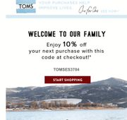 10% Off. Every Product Purchased, Person in Need Helped & up to 40% Sale