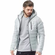 833 Police Mens Turin Jacket Pearl Grey