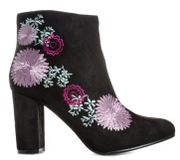 Womens Dolcis Felicity Embroidered Boots - £8.99 +FREE Delivery with Code