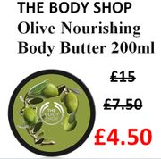 Olive Nourishing Body Butter WAS £15, THEN £7.50, NOW £4.50 with CODE