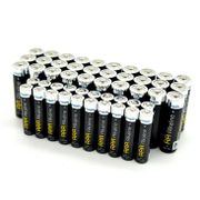 Maplin Long-Lasting Alkaline Batteries 30 AA and 20 AAA (50 Pack)