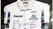 WIN a Signed Glasgow Warriors Rugby Shirt!