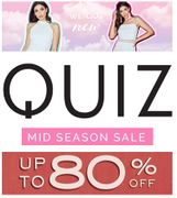 Rummage Time! GET 80% or MORE off at QUIZ
