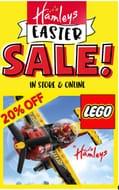 20% off Lego Deals at Hamleys. 20% off Playmobil Too!