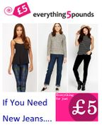 ALL JEANS £5. Skinny £5. Bootcut £5. High Waisted £5. Straight Leg £5. JEANS £5