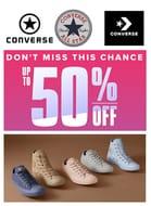 50% off Converse