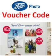 BOOTS Voucher Code: SAVE 1/3 on Photo Wall Art