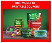 FREE MONEY off PRINTABLE COUPONS - JOHN WEST FISH PRODUCTS