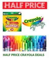 HALF PRICE Crayola Deals. BARGAIN!