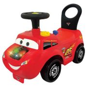 Disney Cars Lightning McQueen Ride on Lights and Sounds Activity Racer