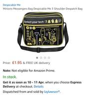 Minions Messenger Bag