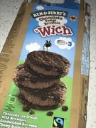 Ben & Jerry's Chocolate Fudge Brownie Sandwiches