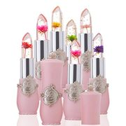 Bright Flower Crystal Jelly Lipstick Magic Temperature Change Color Lip