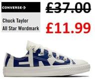 Cheap Kids CONVERSE! E.G. Chuck Taylor All Star Wordmark £11.99!