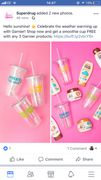Free Smoothie Cup When You Purchase 3 Garnier Products in Superdrug