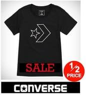 HALF PRICE Converse Clothing Sale + plus EXTRA 20% off CODE