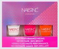 Nails Inc High Performance Neon Nail Polish Kit