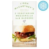 Half Price Linda McCartney Mozzarella Burgers 227g