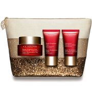 Free Clarins Makeup Bag + 5 Free Samples with Purchase!