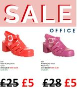 Jelly Shoes! Were £25 Now £5 at OFFICE!