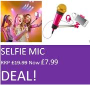 Cheap! Cheaper! Cheapest! Selfie Mic Just £7.99 (RRP £19.99) AWESOME DEAL!