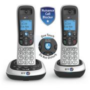 BT Cordless Twin Telephone with Answer Machine