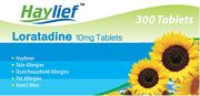 300 Hayfever Tablets for Just £9.99 (+ Free Delivery)