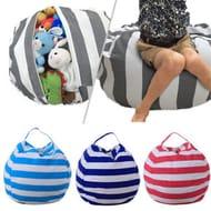 Kids Stuffed Bag Doubles as a Seat When Stuffed Free Del