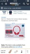 Power Bank /Head Phones