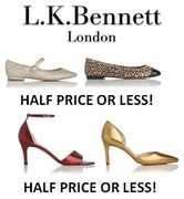 Shoes! Shoes! Shoes! HALF PRICE or LESS in the L.K.BENNETT SALE