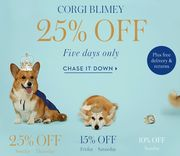 Up to 25% off for 1 Week at Boden