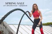 Spring Sale 50% off Activewear & Equipment| Bodyism