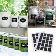 40 Chalk Labels Free Post